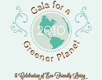 Gala for a Greener Planet Invitation