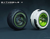 Batmobile wheels