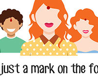 It's not just a mark on the forehead !