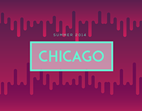 Chicago 2014 - Series of illustrations