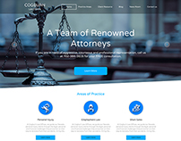 Law Firm Landing Page