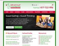 Kids Eat Smart Website Design