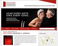 Red Door Hearing & Speech Web Design and Development
