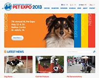 NL Pet Expo Website Design and Development