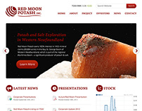 Red Moon Potash Website Design & Development