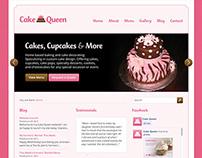 Cake Queen Website Design and Development