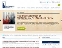 Breakwater Books Website Design and Development