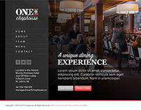 One11 Chophouse Website Design and Development