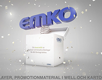 3D Visuals for Emko (packaging company)