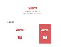 WhoWanna visual identity