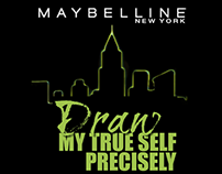 Maybelline - Hypersharp - 'Draw My True Self' Campaing