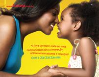 Campanha Zig Zig Zaa - 2008 - Marca de roupas infantil