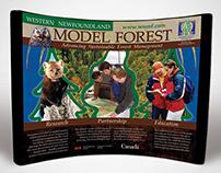 Western Newfoundland Model Forest Display Booth