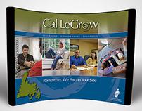 Cal LeGrow Display Booth