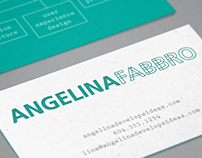 Branding: Angelina Fabbro, programmer and consultant
