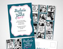 Stephanie and David Wedding Invitations