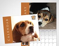 Beagle Paws 2013 Calendar