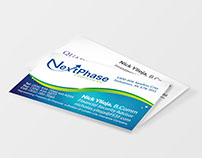 Business Card design for NextPhase
