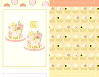 Cake Illustrations (Elegant and Floral)