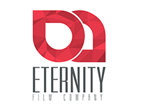 Eternity Film logo and business card