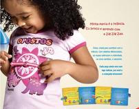 Campanha Zig Zig Zaa - 2009 - Marca de roupa infantil