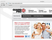 Guard Pro – Usability and Website design