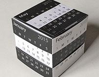 Paper Puzzle Desk Calendar