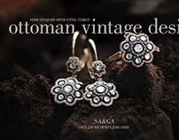 Ottoman vintage jewelry design
