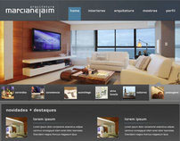 Marcia Nejaim - Interface and Website Design