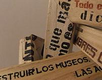 Avant-garde/Andamios: installation