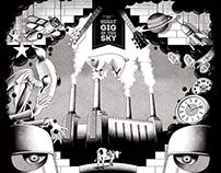 Rolling Stone Italia back cover - Pink Floyd - Nov. 14