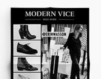 Modern Vice Flyer Designs
