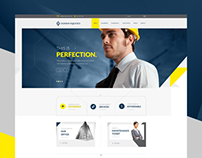 Hudson Construction Web Design