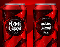 Kani Luxe Cola Drink Branding/packaging