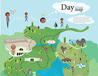 My Day Map: St. Louis Forest Park
