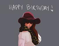 Happy Birthday, Jackie!