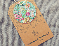 Broken Rabbit Apparel Branding