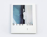 blue iris Cover Design