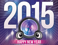 New Year Party Flyer 2015