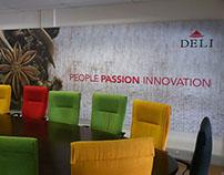 Deli Spices Boardroom Signage