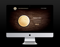 Landing Page for Craft Brewery