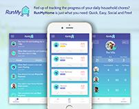 RunMyHome App Design