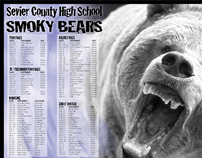 YEARBOOK COVER DESIGN 2011: Sevier County High School on ...