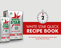 White Star Quick Electronic Recipe Book