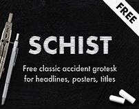 SCHIST / free typeface