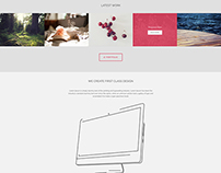 Designers Home Page - Supreme Shortcodes Free Template