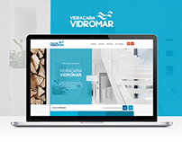 Vidraçaria Vidromar - Single Page Website