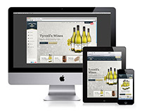 Tyrrell's Wines Website Re-Design