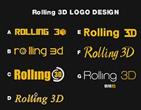 Rolling 3D LOGO Design