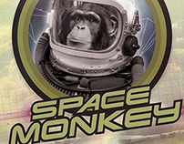 Space Monkey: Graphika Manila Book 2013 Submission